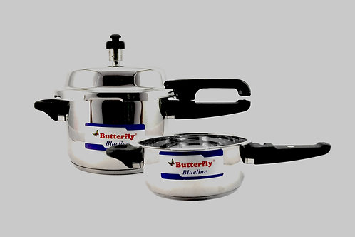 Butterfly Pressure Cooker 3 Ltr Combi Pack