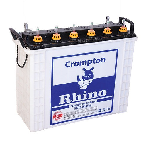 Crompton Tall Tubular Battery Power Plus 150-12V