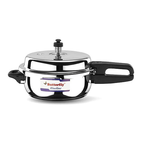 Butterfly Pressure Cooker Blueline-2L Stainless Steel