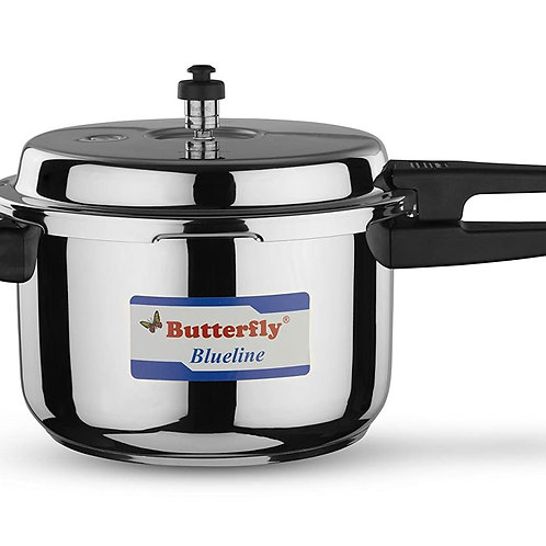 Butterfly Pressure Cooker Blueline-7.5L Stainless Steel