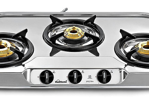 Sunflame SS Gas Spectra Stove 3Br.