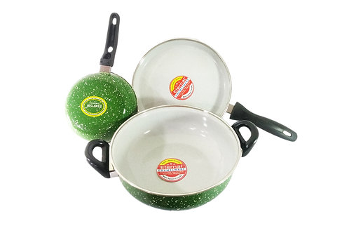 Eternal Cook and Serve 3pc Cookware Set