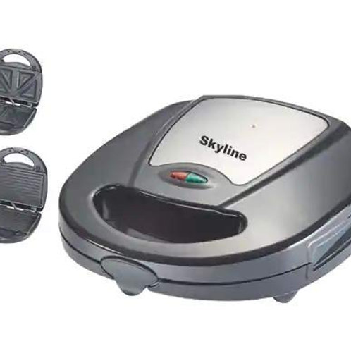 Skyline Sandwich and Grill Toaster Vtl-888