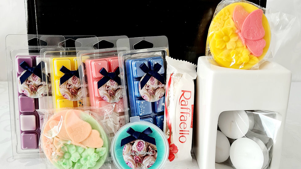 Luxury wax melt box
