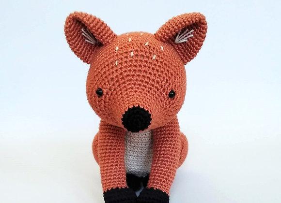 Red fox crochet pattern