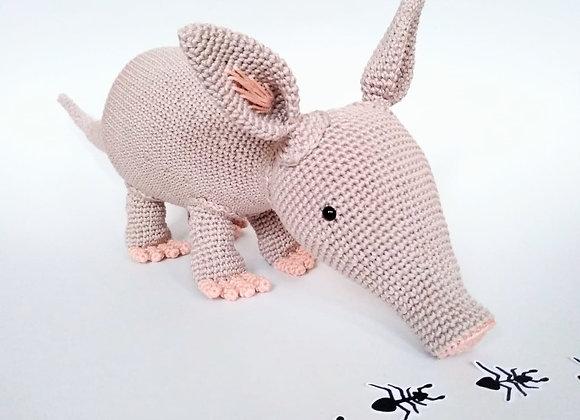 Aardvark crochet pattern