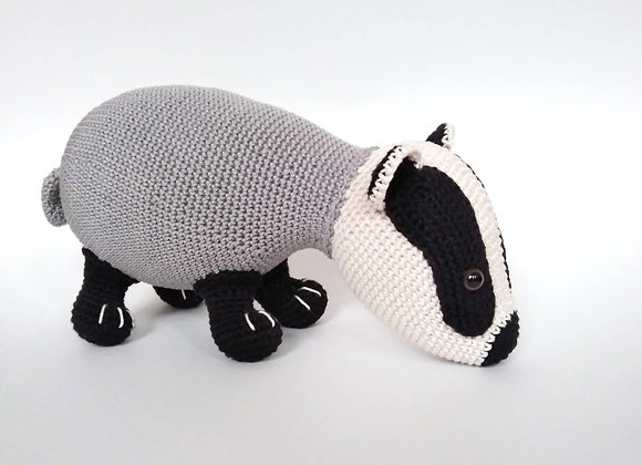 Badger crochet pattern