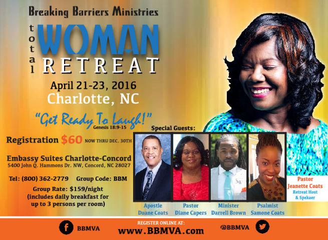 BBM Retreat 2016 Pastor Jeanette Coats