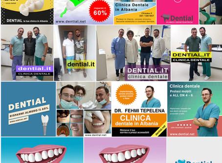 Dential, la presenza nei social network