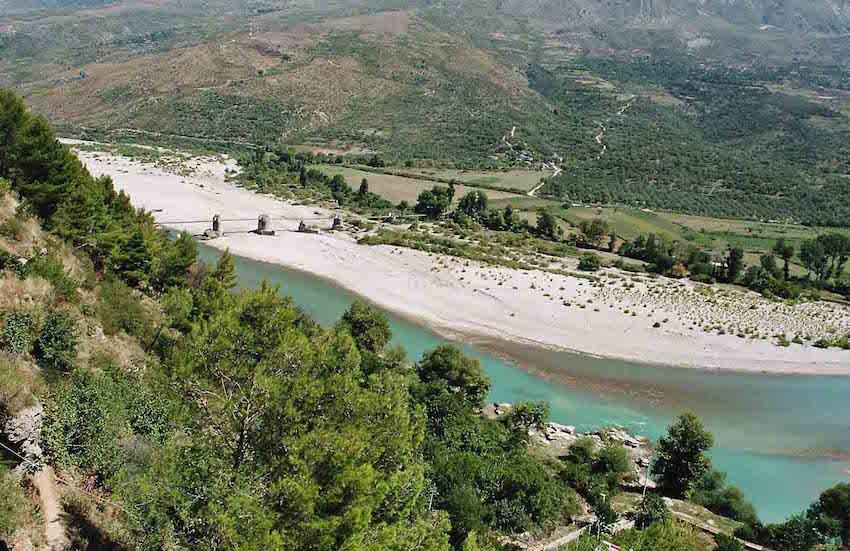 fiume Vjosa Albania