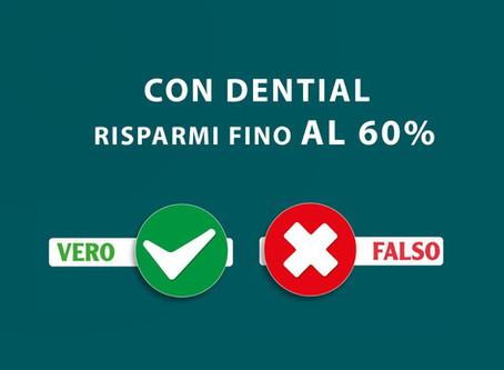 Risparmi fino al 60% sulle cure dentali