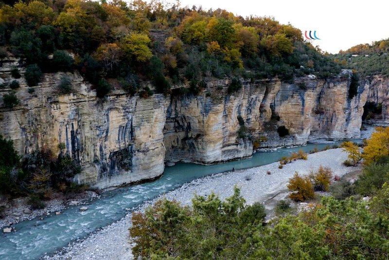 canyon osumi albania