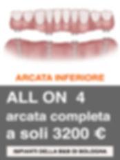 Arcata Inferiore All on 4