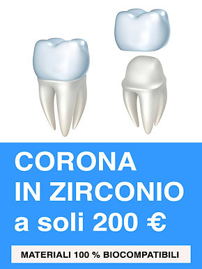 Corone in Zirconio Zahn