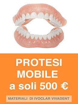 Protesi mobili dentali