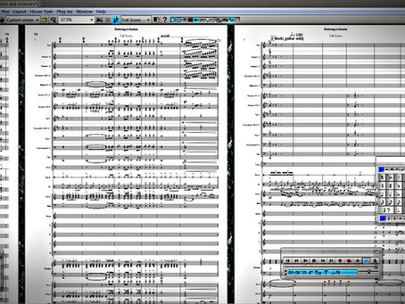 FULL ORCHESTRAL SCORE