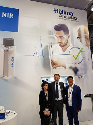 Booth in Analytica 2018, Germany.jpeg