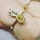 Thumbnail: 14ct gold diamond pineapple ring