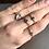 Thumbnail: Vintage chain diamond rings
