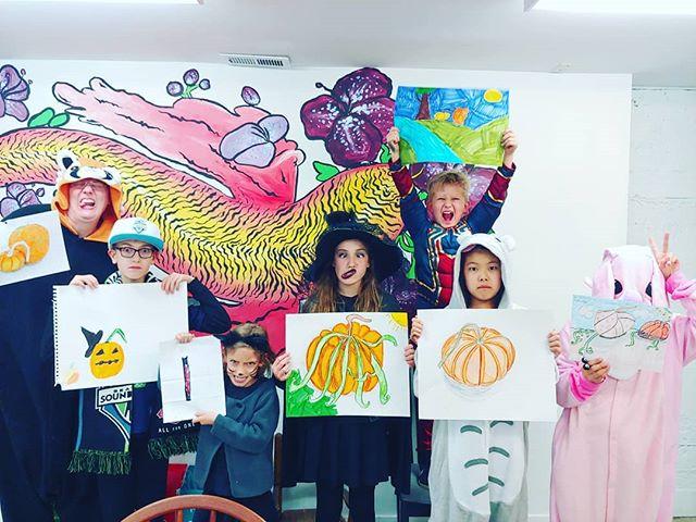 Happy Halloween from Cloud 9 Art School!