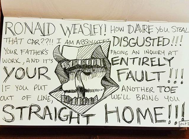 Day 21_ furious__A howler! _RONALD WEASL