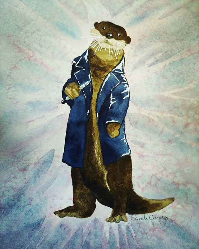I just mailed _Otterly Fantastic_ off to