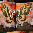 I painted Mothra today and honestly I th