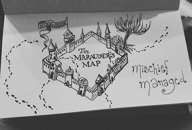 Day 22_ trail__Marauder's Map _Mischief