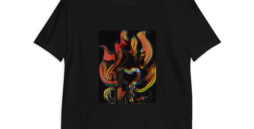"Ch'Lu Campfire ""Painted on Black"" T-Shirt"