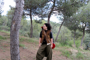 """Camilla Mathias on set of """"Don't"""" Music Video, Spain - Photography by Aniez"""