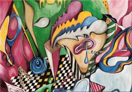 Abstract by Camilla Mathias