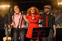 Camilla Mathias on Arlaud Stage, Lausanne by Geri Krischker