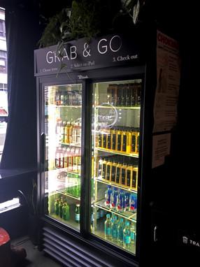 Designed the Grab & Go sign
