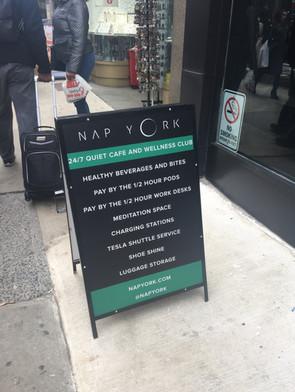 Designed the signage