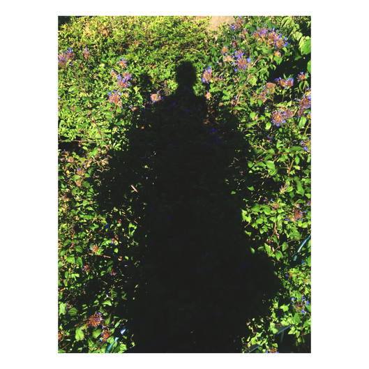 Self portrait. This is the when I am with Khady In paris. Shadow