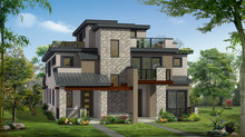 Cherry Creek Duplex Designed and Built by Cline Design Group 2017.
