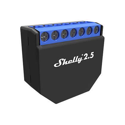 Shelly 2.5 doble interruptor