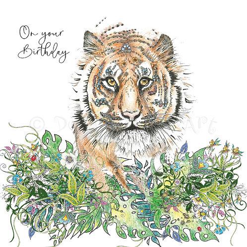 Tiger Birthday Foiled [554]