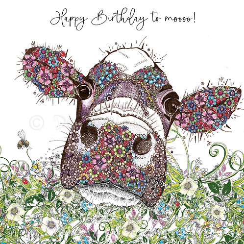 Cow Birthday Foiled [551]