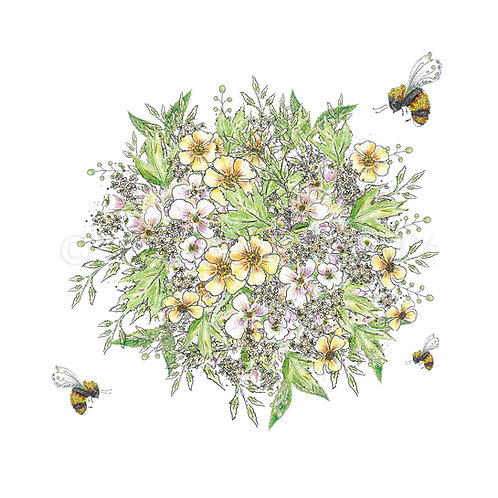 6 x Wild Flower Bouquet [508]