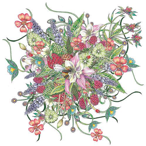 Botanical Floral Bouquet [536]