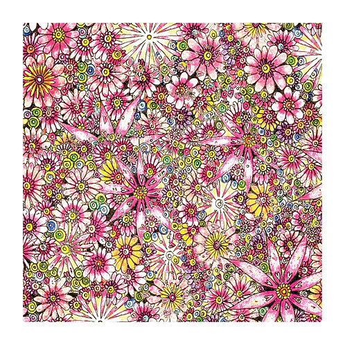 Floral Pattern Pink Flowers [349]