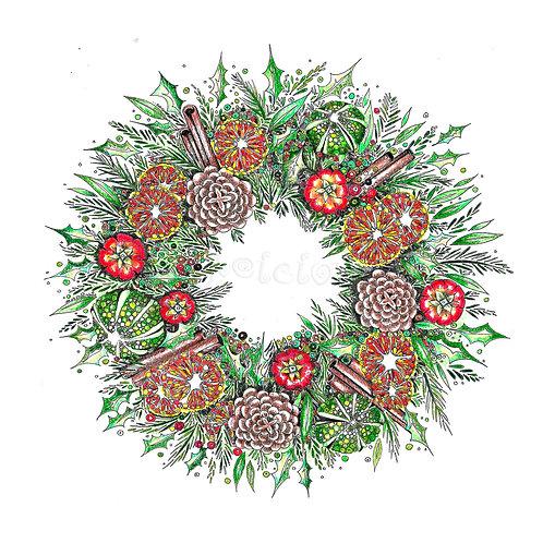 Cinnamon Wreath [060]