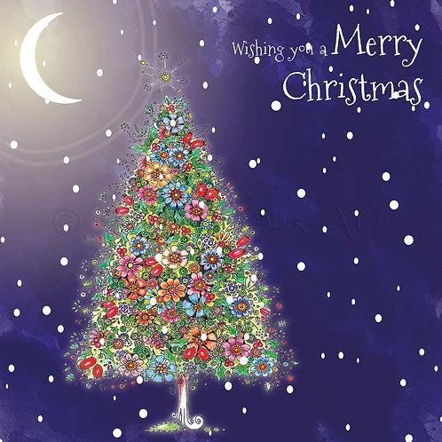 6 x Christmas Tree Wishing you a Merry Christmas [403]