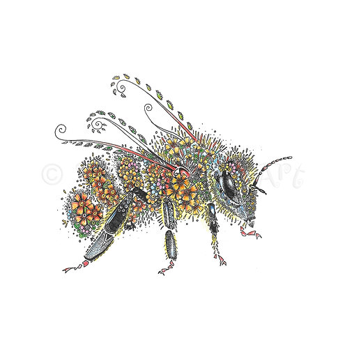 Flower Bee [478]