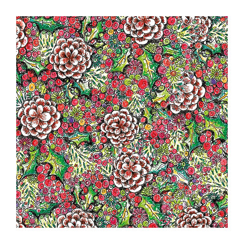 Floral Pattern Winter [352]
