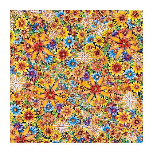6 x Floral Pattern Sunshine [350]