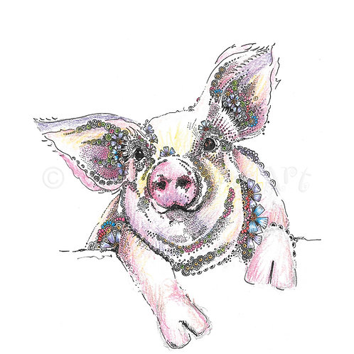6 x Flossie the Pig [466]