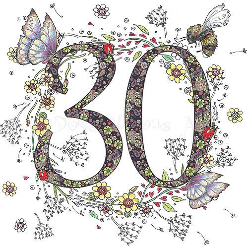 6 x Flower Meadow 30 [470]