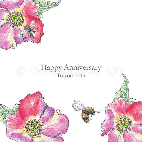 6 x Wild Flower Hellebore Happy Anniversary [433]